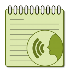 voice note logo